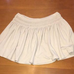 Free People knit pleated circle skirt M